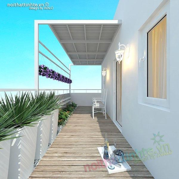 Thiết kế nhà đẹp diện tích nhỏ 25m2