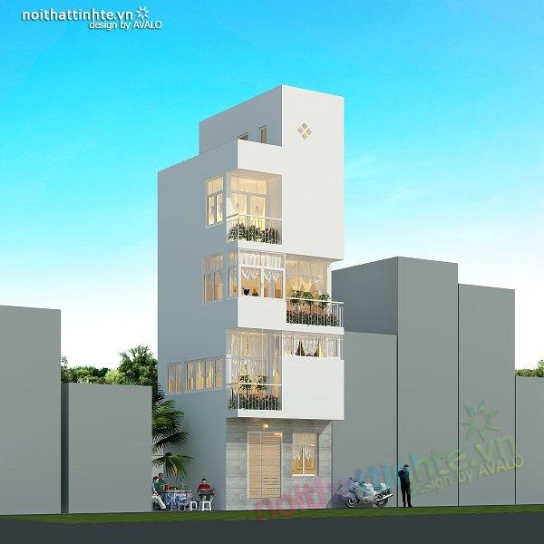 Thiết kế nhà nhỏ diện tích 25 m2 03