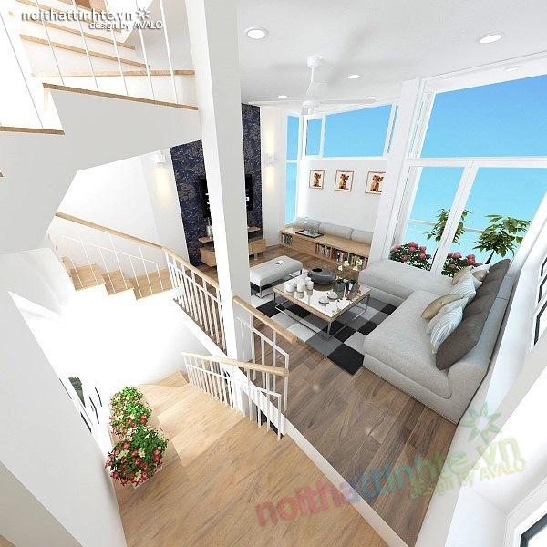 Thiết kế nhà nhỏ đẹp diện tích 25 m2 ở Nghĩa Dũng 09
