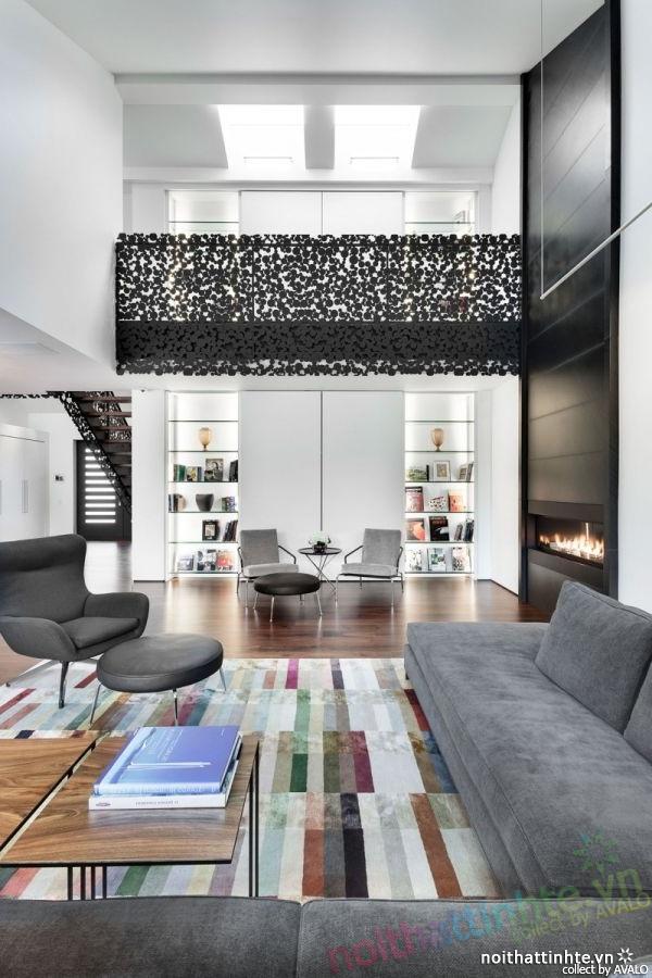 Thiết kế nhà đẹp 2 tầng ở Montreal Canada 01