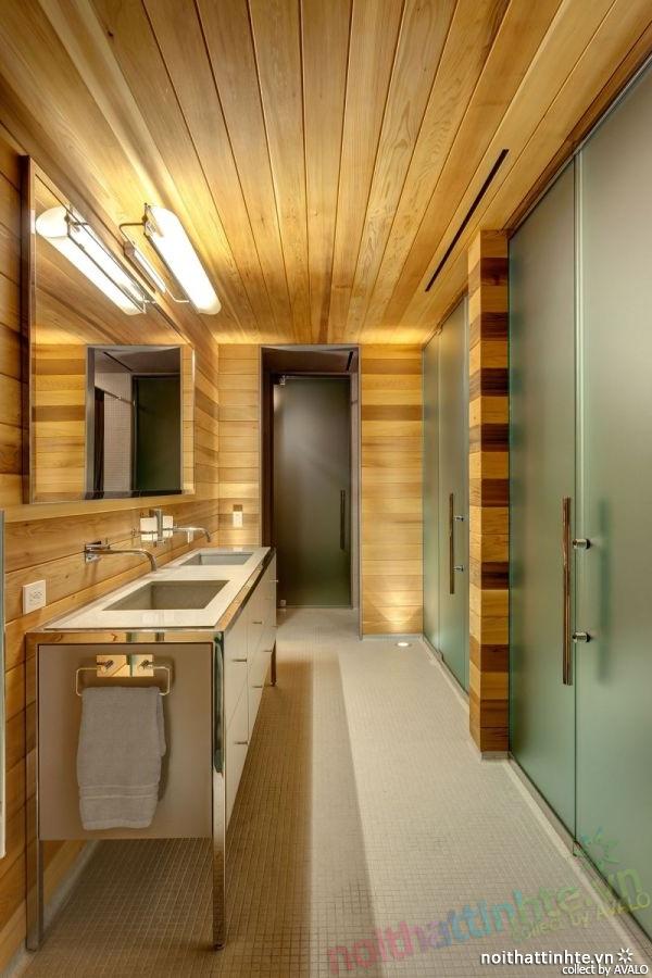 Thiết kế mẫu nhà đẹp 2 tầng ở Montreal Canada 10