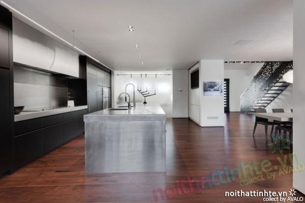 Thiết kế mẫu nhà đẹp 2 tầng ở Montreal Canada 02