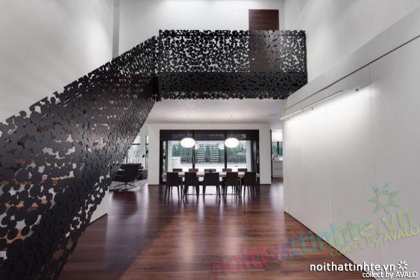 Thiết kế mẫu nhà đẹp 2 tầng ở Montreal Canada 04