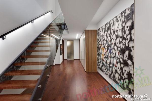 Thiết kế mẫu nhà đẹp 2 tầng ở Montreal Canada 06