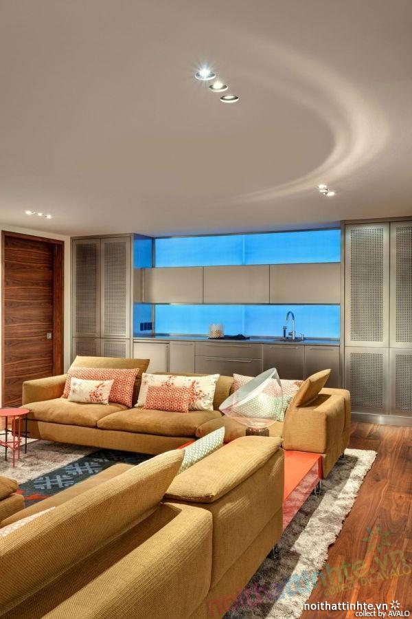 Thiết kế mẫu nhà đẹp 2 tầng ở Montreal Canada 08